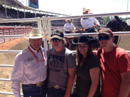 First time to the Calgary Stampede
