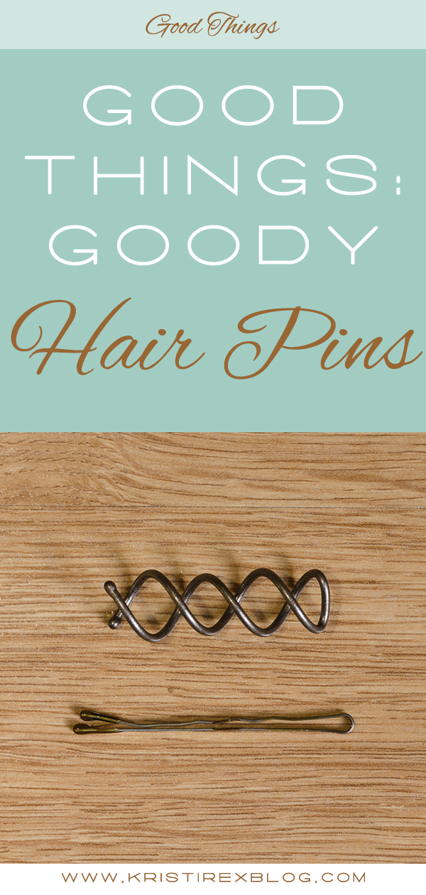 Good Things: Goody Hair Pins