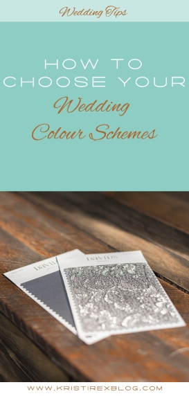 How to choose your wedding colour schemes - Kristi Rex Photography