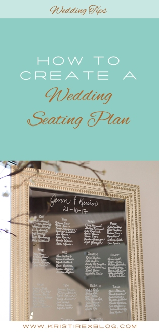 How to create a wedding seating plan