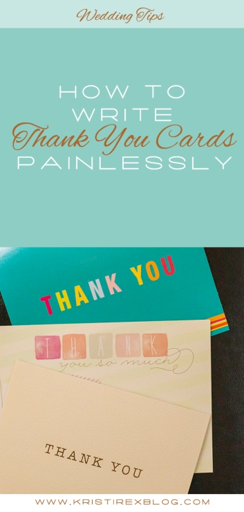 How to Write Thank You Cards Painlessly - Kristi Rex Photography