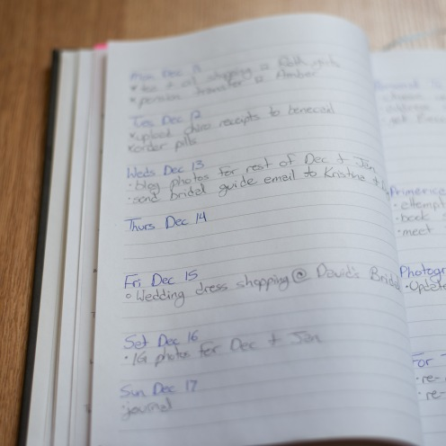 All About My Bullet Journal - Kristi Rex Photography